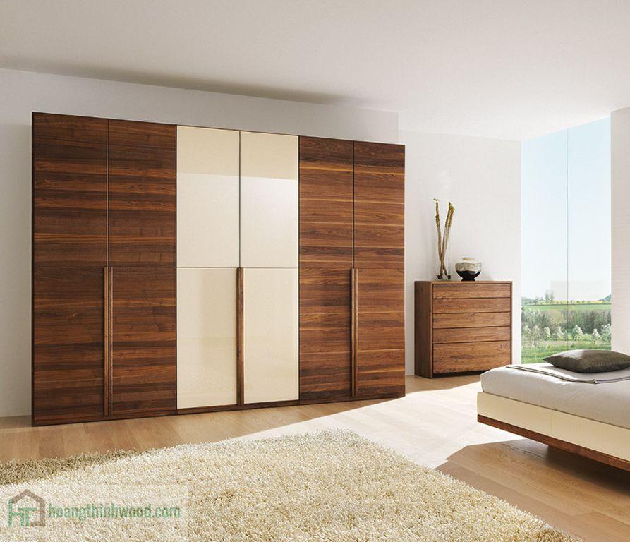 tủ áo gỗ veneer