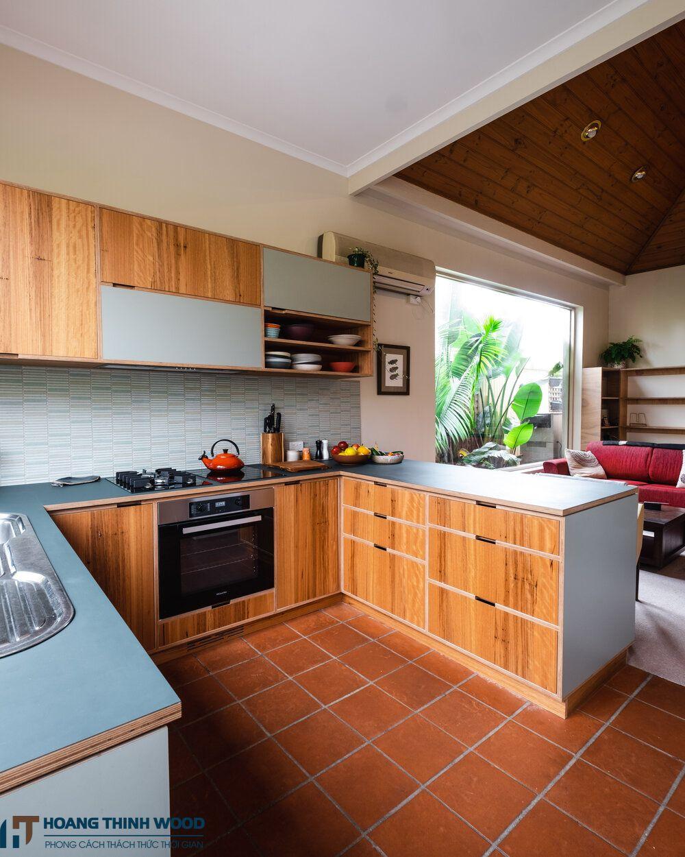 phòng bếp nhà cấp 4 đẹp