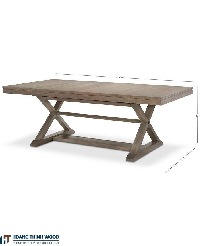 bàn ăn gỗ cổ điển