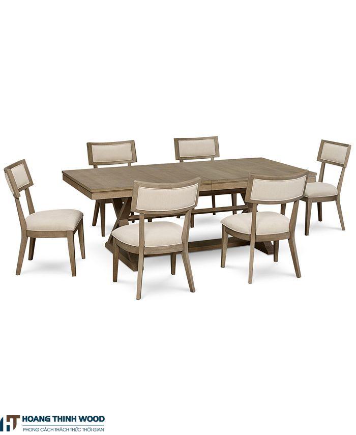 bàn ăn gỗ cổ điển đẹp