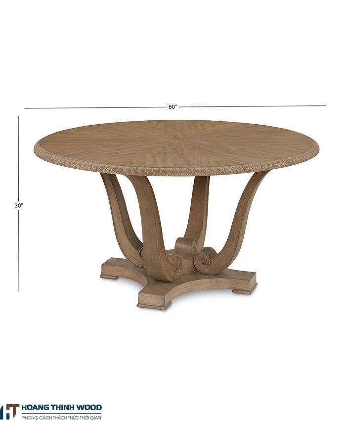 bàn gỗ cổ điển